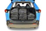 Kofferbak tassenset voor Toyota RAV4 V (XA50) SUV vanaf 2018 Carbags_11