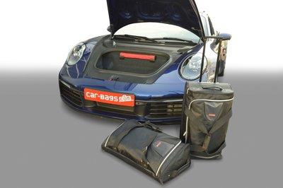 Kofferbak tassenset voor Porsche 911 (992) Coupe / Cabrio vanaf 2019 Carbags