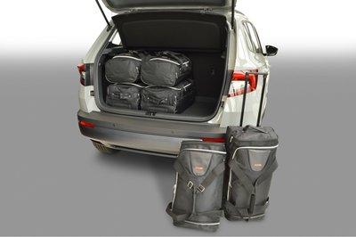Kofferbak tassenset voor Skoda Karoq SUV vanaf 2017 Carbags