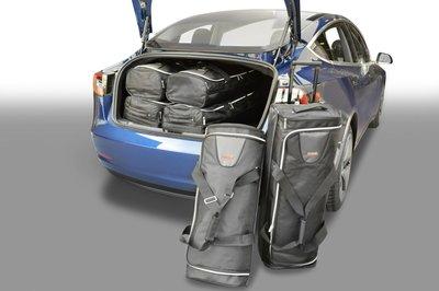 Kofferbak tassenset voor Tesla Model 3 4 deurs vanaf 2018 Carbags