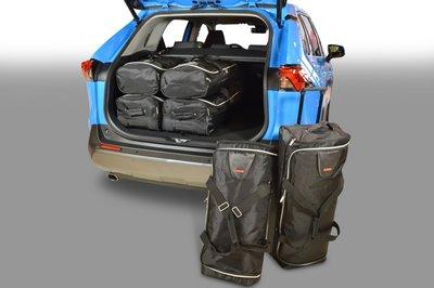 Kofferbak tassenset voor Toyota RAV4 V (XA50) SUV vanaf 2018 Carbags