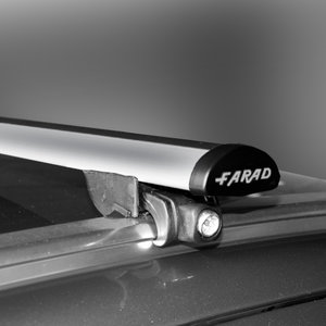Dakdragers Ford Focus SW 2011 t/m 2018 met gesloten dakrails - Farad aluminium