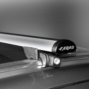 Dakdragers Peugeot 5008 vanaf 2017 met gesloten dakrails - Farad aluminium