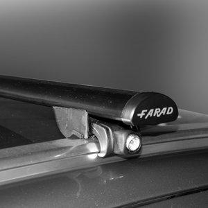 Dakdragers Toyota Auris Touring Sport vanaf 2013 met gesloten dakrails - Farad staal